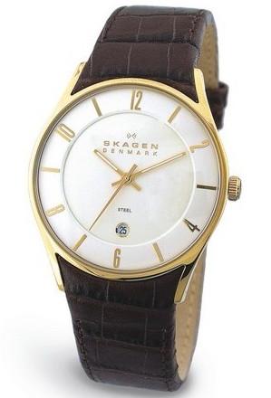 SKAGEN-474XLGL-Slimline-Edelst-Led-Herren-Armbanduhr